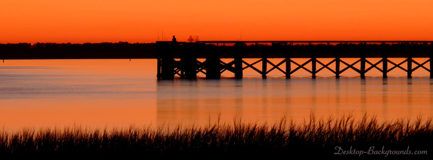 Panacea Pier at Sunset Cover Photo