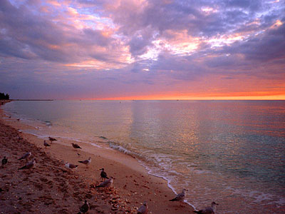 Nokomis Beach Sunset