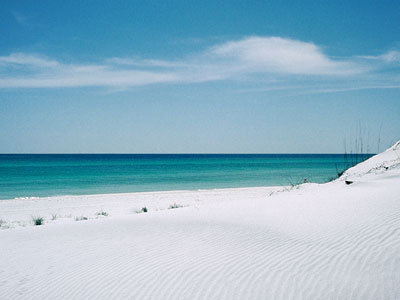 Sea and White Sand