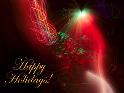 Happy Holiday Abstract